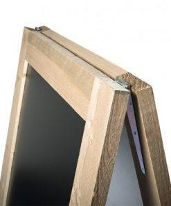 Krijtstoepbord-Steigerhout detail 1